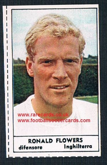 1966 Italian TIME MAG Ron Flowers Wolves England packet issue